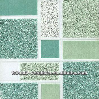 Green Color Wall Ceramics Tiles