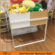 China Manufacturers Wooden Steel Cabinets Miniso Shelf Stand For Display Toy Goods