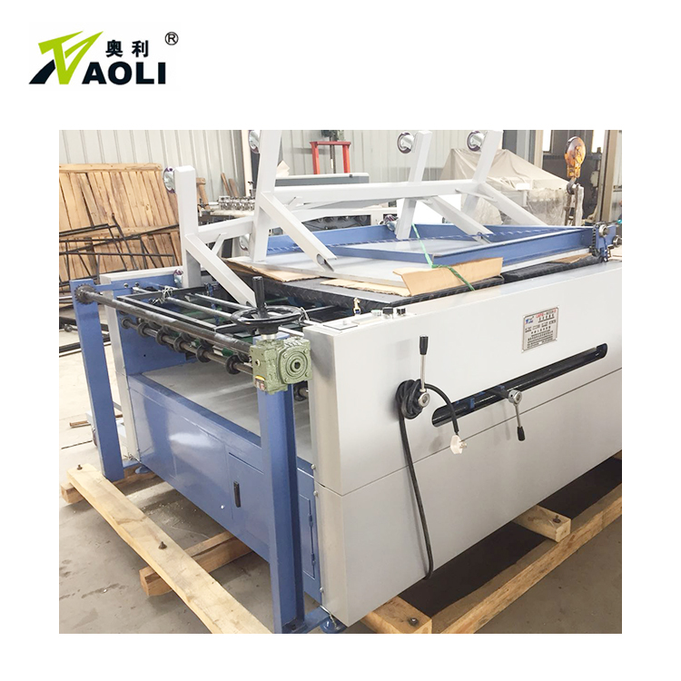 BOPP OPP PE laminated sheet paper separating machine plastic film sheet slitting machine paper roll die cutting machine