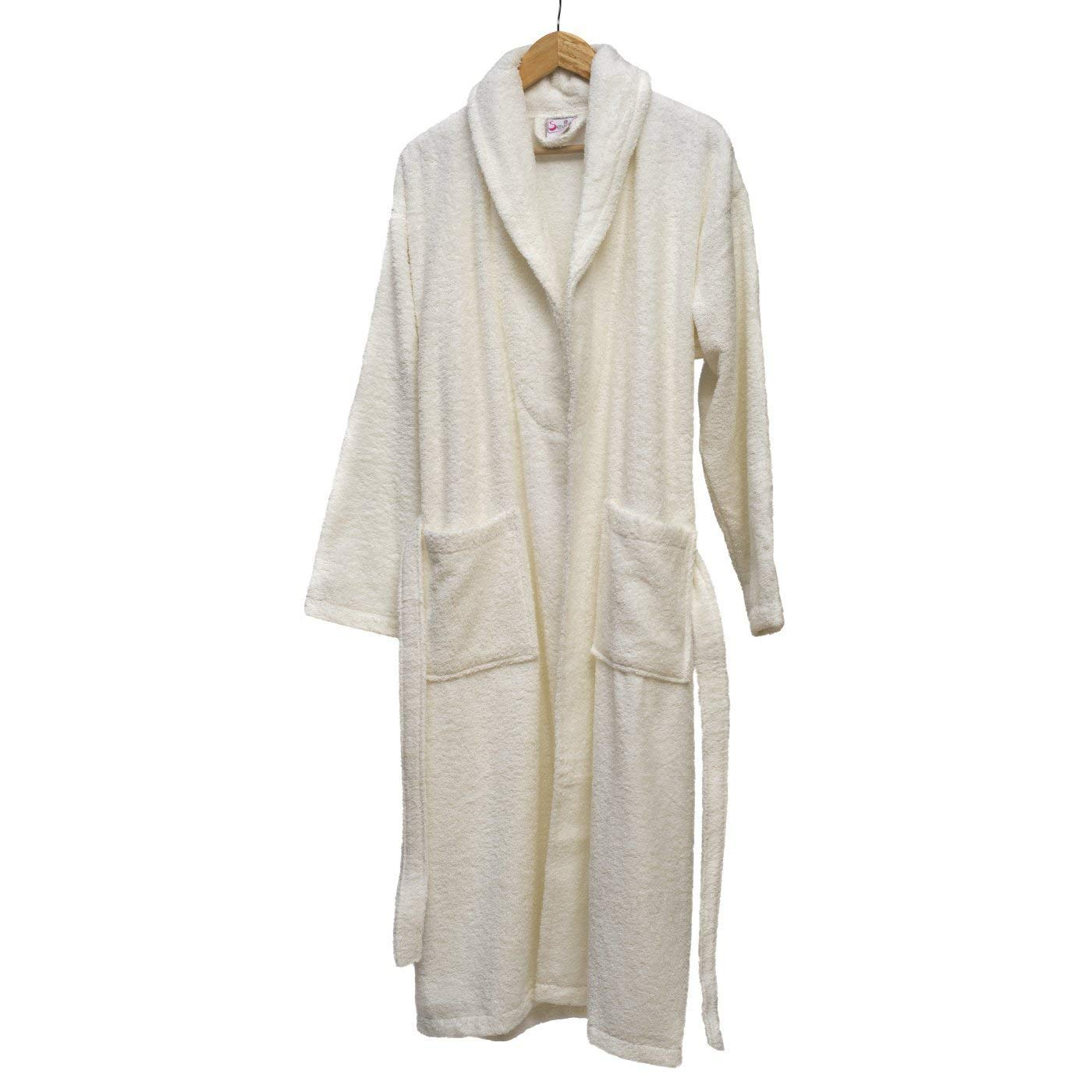57aa4e32ec Get Quotations · Cozy Line Hgh Quality 100% Turkish Cotton Extra Plush  Bathrobe Set