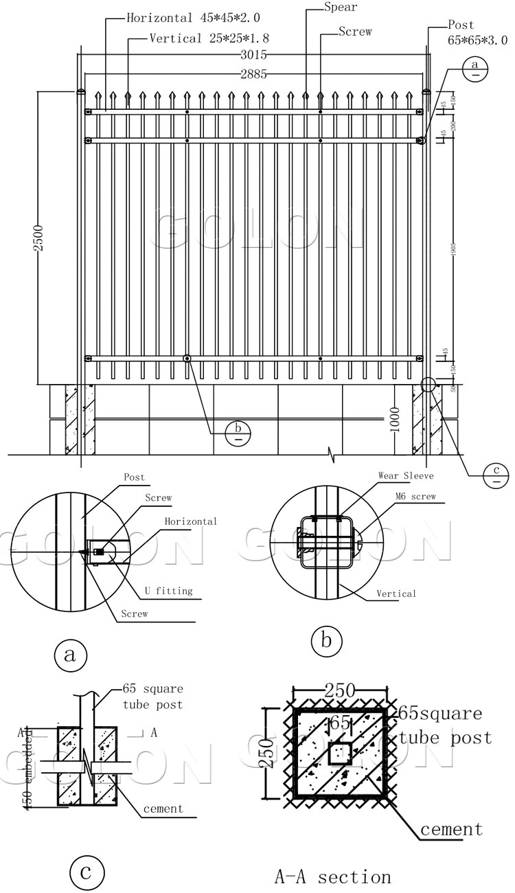 farm fence drawing. High Quality Low Price Farm Fence,triangle Fence, Anti Climb Security Fence Drawing W
