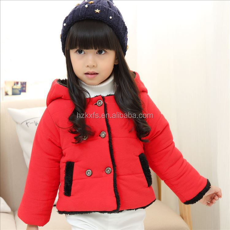 RKFS 095 Cute Style Wholesale Parka Jackets Baby Coats Winter 1 Piece Costume For girl