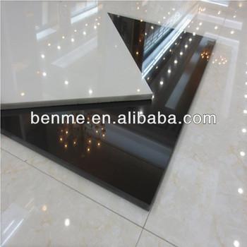 Nano Black Granite Homogeneous Polished Porcelain Tiles ...