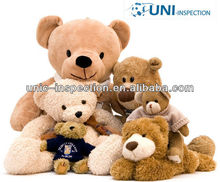 Plush toy quality control inspection in China and toy inspection company in China