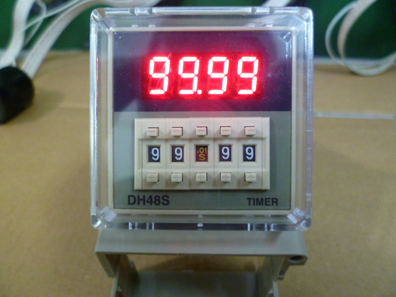 DH48S-S Digital Timer Time Delay Relay 110V 220V 380V AC 24V 12V DC 0 01S -  99H 99M 8 Pins with Base Socket - เกษตรฟิวชั่น