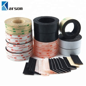 China Supplier Wholesale Retail Custom Die Cut 3M Dual Lock Mushroom Shape Heads Reclosable Fastener Tape