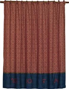 HiEnd Accents Western Wrangler Bandana Shower Curtain