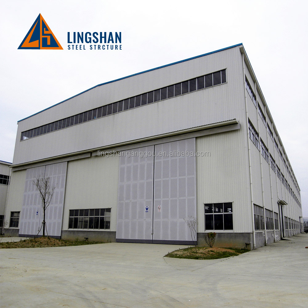 ISO 9001:2008 low cost high rise steel building prefabricated shed manufactory