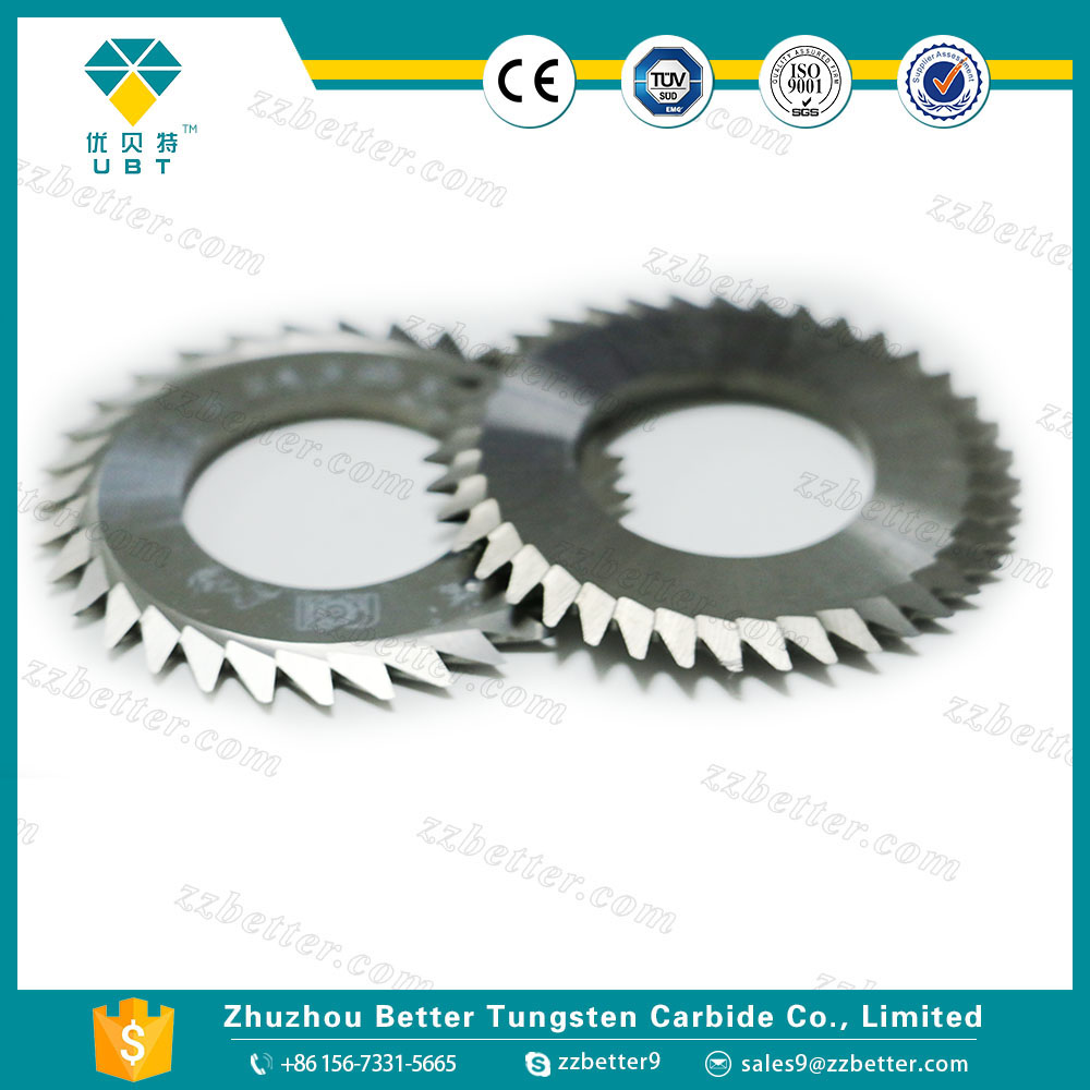 precision carbide Packaging round Blades