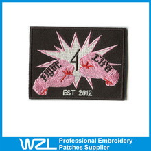2015 Professional Embroidered Patches creative jacket reflective patch