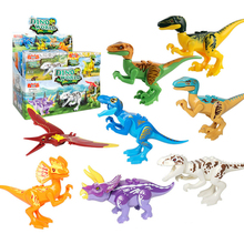 8 model DIY animal toys plastic dinosaur toy from china