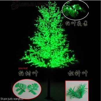 2017 Sj Lt016 Factory Price Led Christmas Tree Lighting For Decor Outdoor Light Artificial Pine