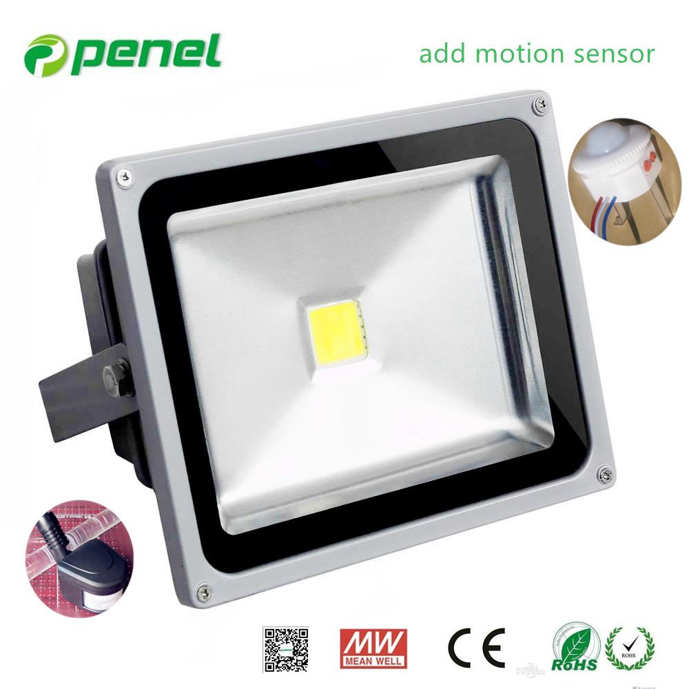 2016 New Led Flood Lights Motion Sensor (infrared Sensor)epistar ...
