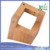 Magnetic Knife Block Solid Beech Wood Sharpener Holder for Protects 8 High-End Knives