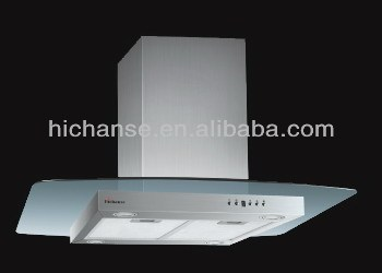 90cm ss island cooker hood hc9226as with suction 900m3h
