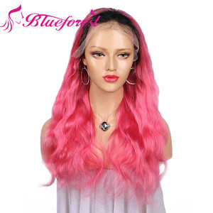 human hair ombre full lace front men dreadlock wig in dubai