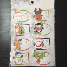 Christmas gift tags with jingle bell/Label Paper/Festival 3D Gift Tag Sheet