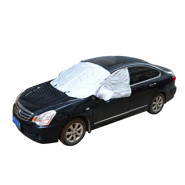 Folding Car Waterproof Sun UV Protection nonwoven Car half Body Cover