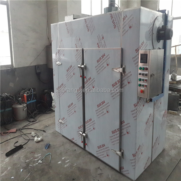 Gas or electric hot air fruit drying machine / industrial food dehydrator machine