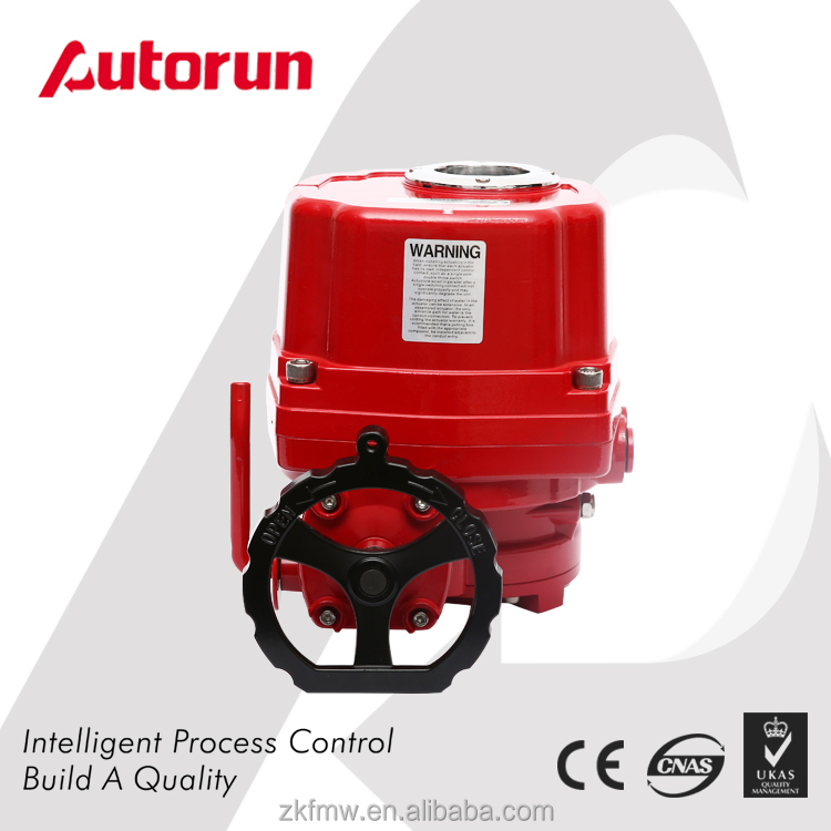 China Products CE Approved Aluminum Alloy ATEX Electric Valve Actuator