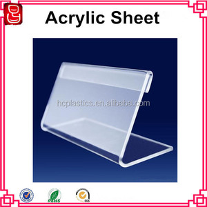 clear pmma sheet scratch resistant plexi glass transparent cast acrylic plank