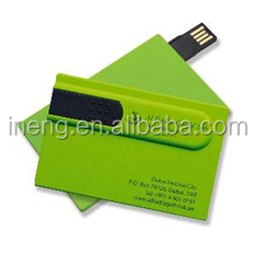 Custom logo 8gb name card and business card usb flash disk