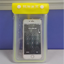 Transparent TPU waterproof phone bag for swimming