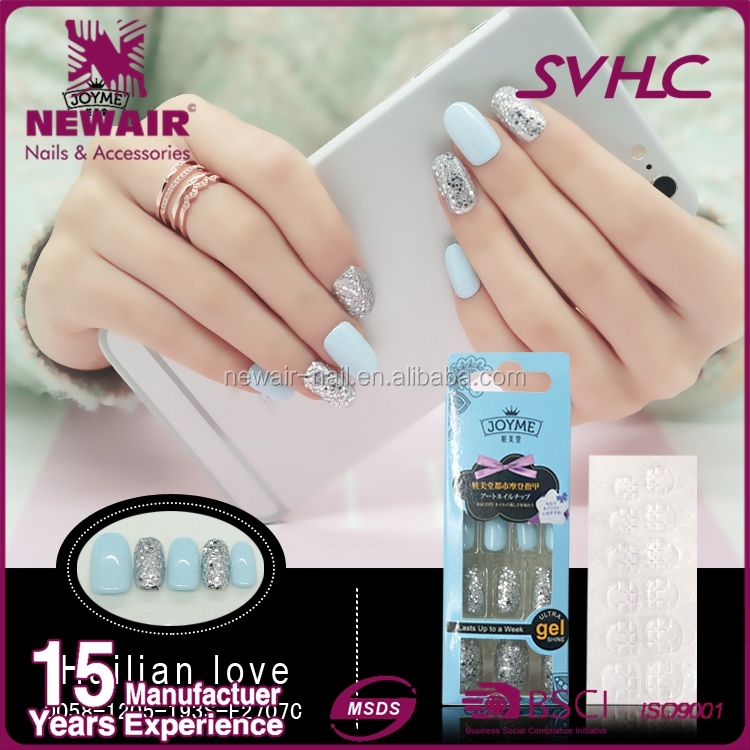 New ABS Artificial Fingernail Nail Tips for Pretty Woman