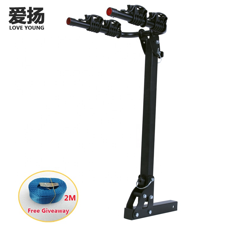 Alibaba.com / Load 2 Bikes Hitch Mount Bicycle Carrier Rear Bike Rack for Car