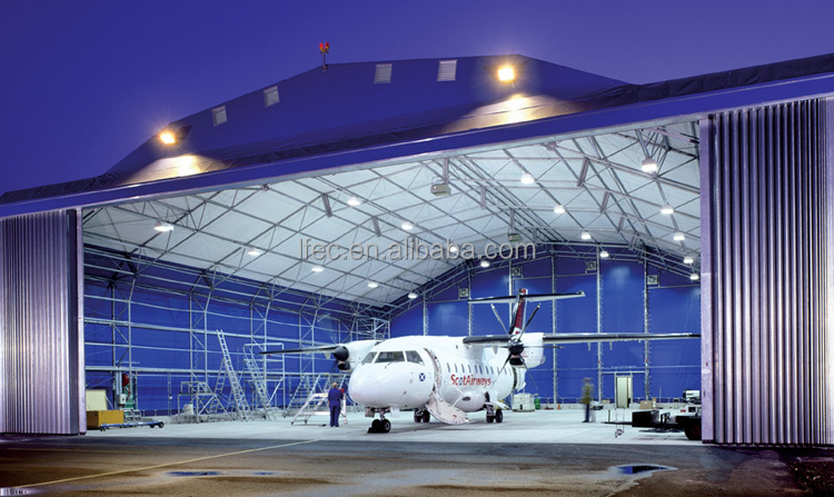 Galvanized Space Frame Steel Hangar for Aircraft