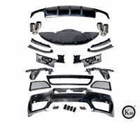 KM Factory outlet 2011-2015 year for Jaguar XF upgrade XFR-S PP body kits bumper auto parts