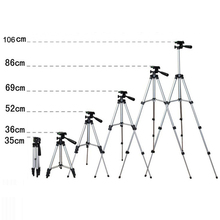 Mini Camera Statief Standhouder 3110 <span class=keywords><strong>Aluminium</strong></span> Professionele Telescopische Statief <span class=keywords><strong>Monopod</strong></span> Voor iPhone Samsung SmartPhone Actie Camera