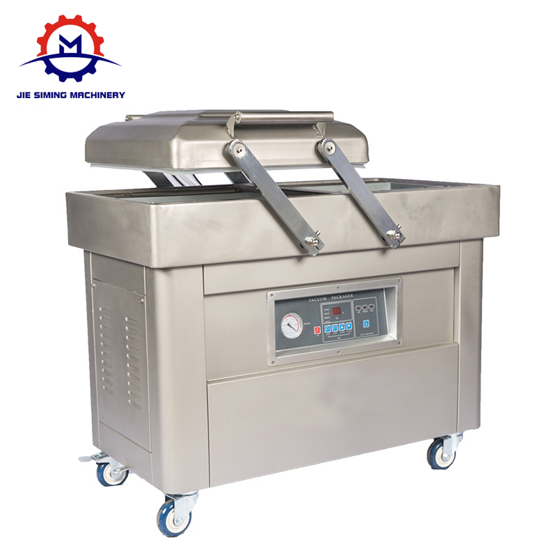 Double chamber vacuum packing machine DZ-400 for meat,beef,sea food,tofu,mushroom,peanut,rice,chicken