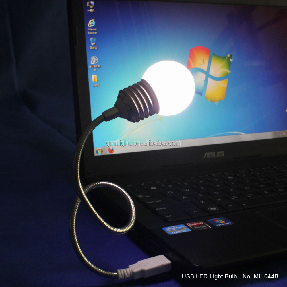 Wholesale good quality mini USB led light lamp for PC laptop