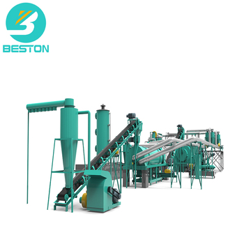 BESTON  BST-50 5-8t/h Beston continuous fruit waste carbonization furnace