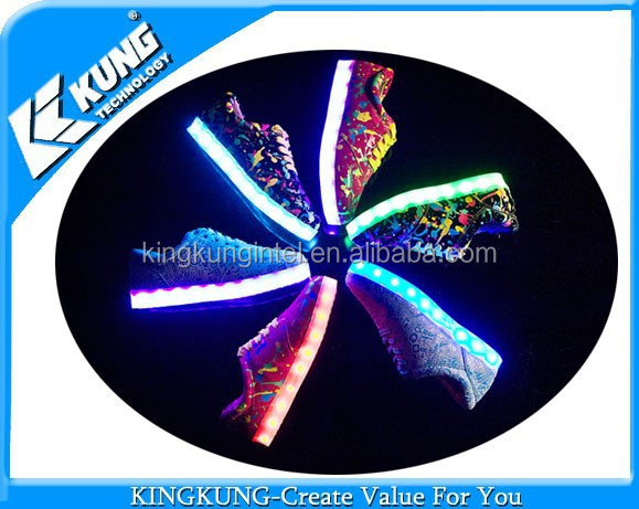 cheap price with led Stylish with girl light shoes WnwqwYz0A