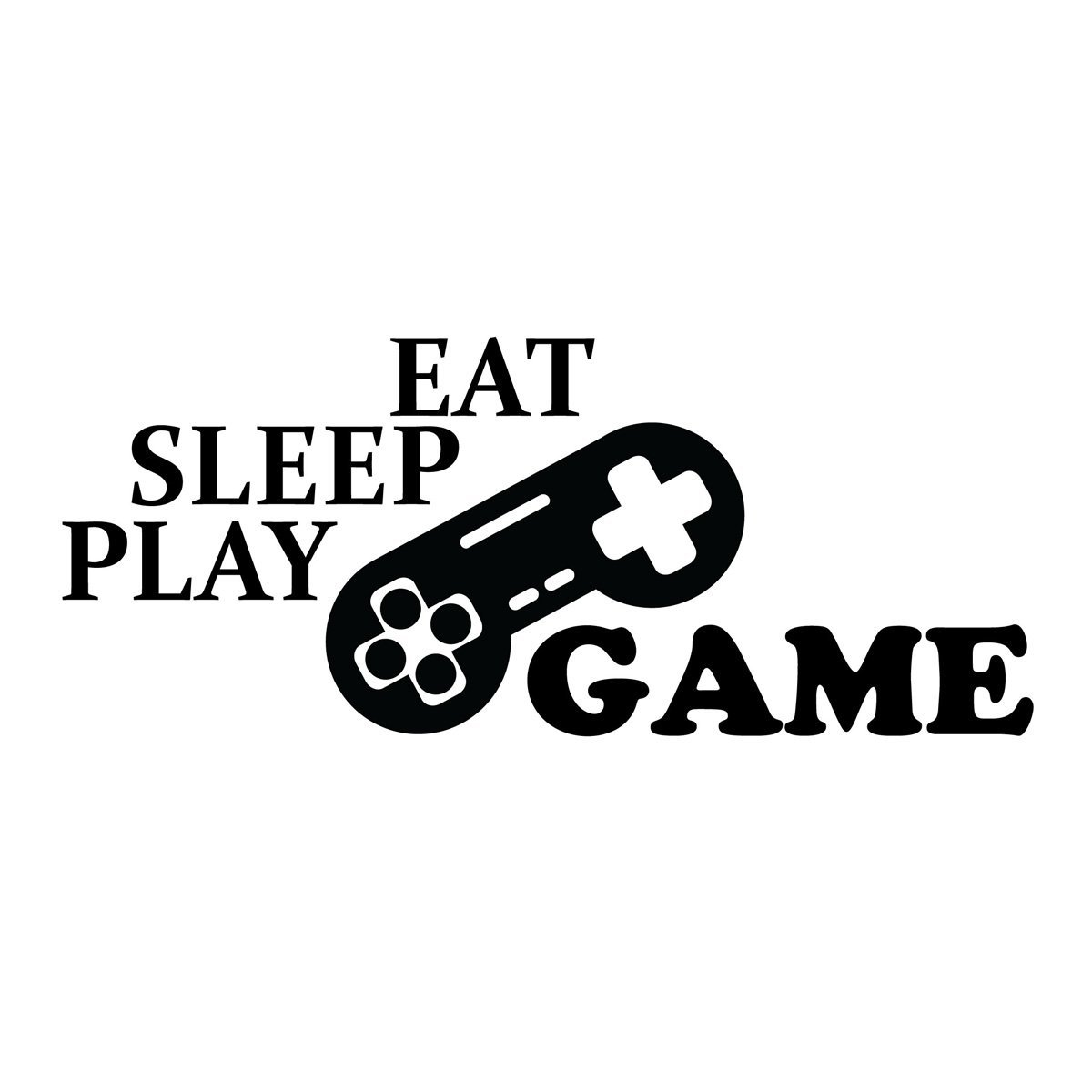 Get Quotations Eat Sleep Play Vinyl Wall Decals Video R Decal Room