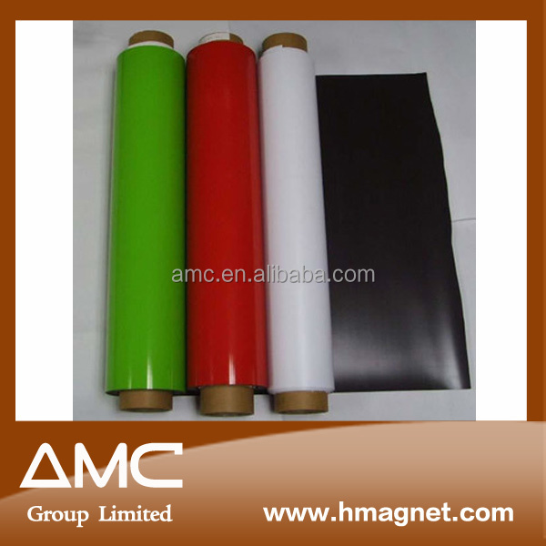 plastic rubber magnet with color PVC for printing