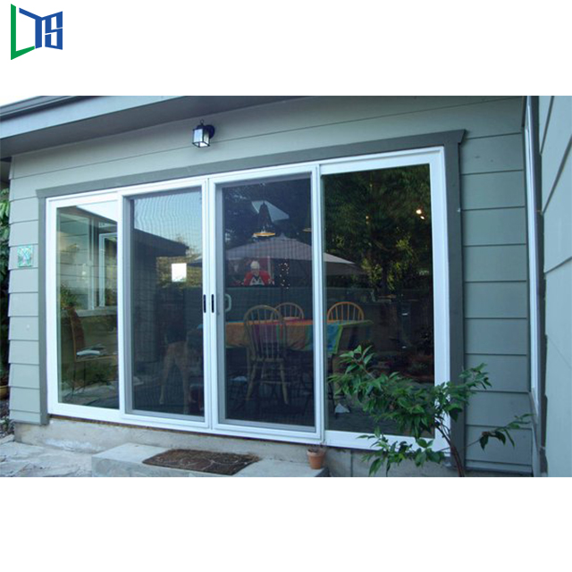2017new Design Bathroom Aluminium Sliding Glass Doors Designs Fabrication Materials