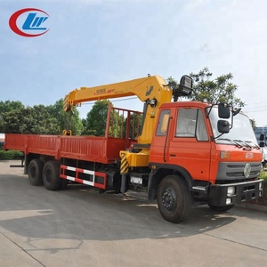 4 Ton Small Mounted Truck Carry Crane