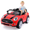 Kulaber red BMWW Mini Cooper 12V Electric Kids Licensed MP3 RC Remote Control Ride On Car