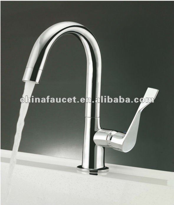 Kitchen or Bathroom Tap LED Basin Mixer Faucet S-101