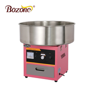 China High Capacity Electric Sugar Floss Maker Snack Machine Commercial Pink High Quality Cotton Candy Floss Machine