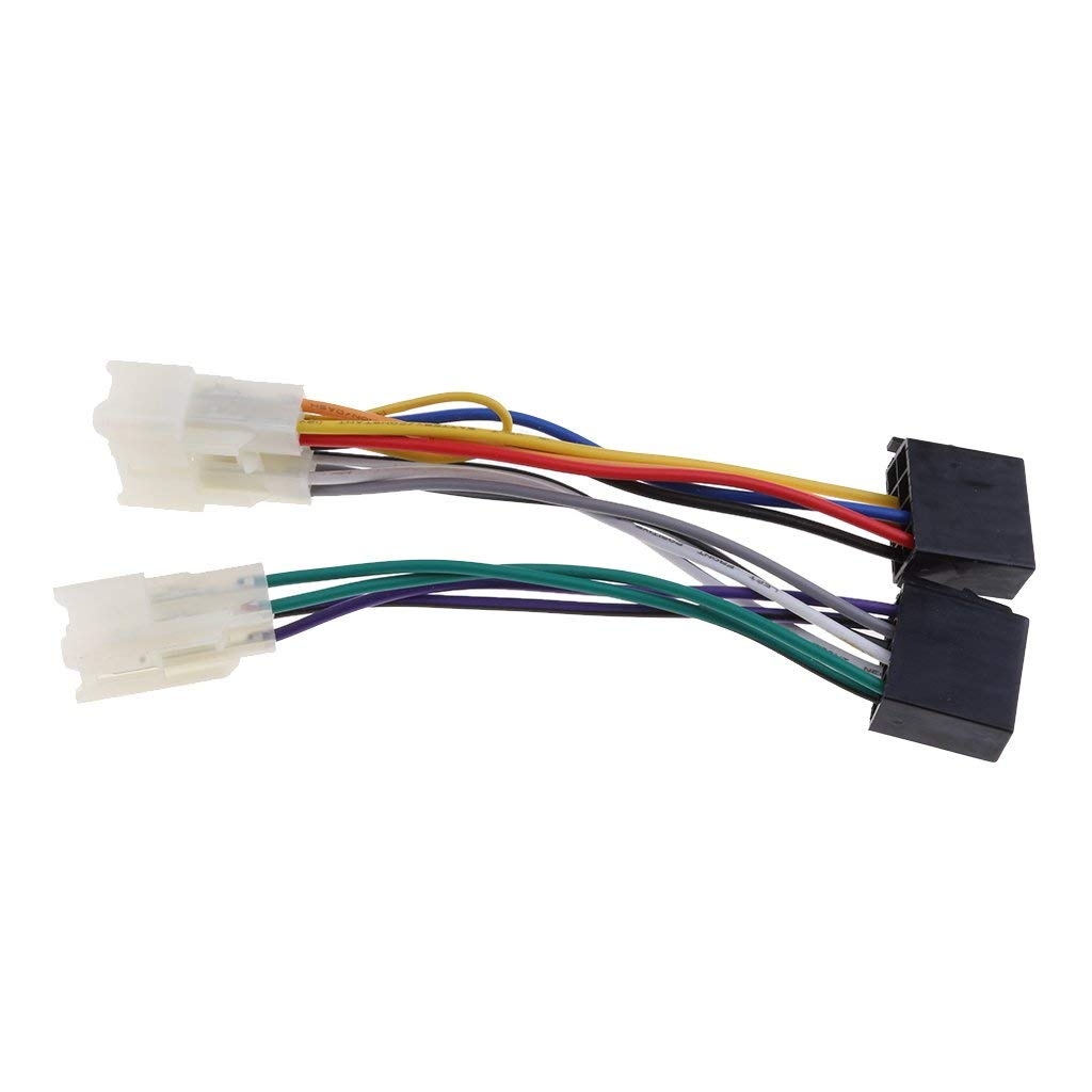 Cheap Head Unit Wiring Find Deals On Line At Car Audio Gt Amplifier Kit Amp Pyle 8ga With Speaker Wire Get Quotations Magideal For Toyota Yaris Iso Stereo Harness Adaptor Loom Lead Cable