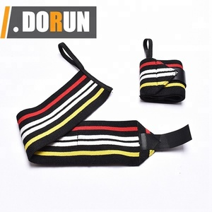 Neoprene Thumb Wrap Adjustable Weightlifting Wrist Straps