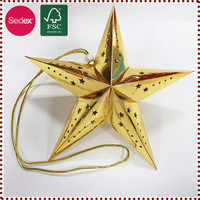 paper star lantern wholesale for festival decoration with low price