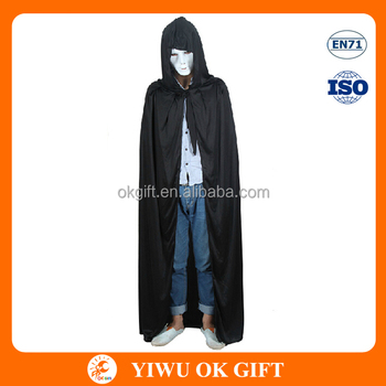halloween vampire devil capes cloak costume with chapeau
