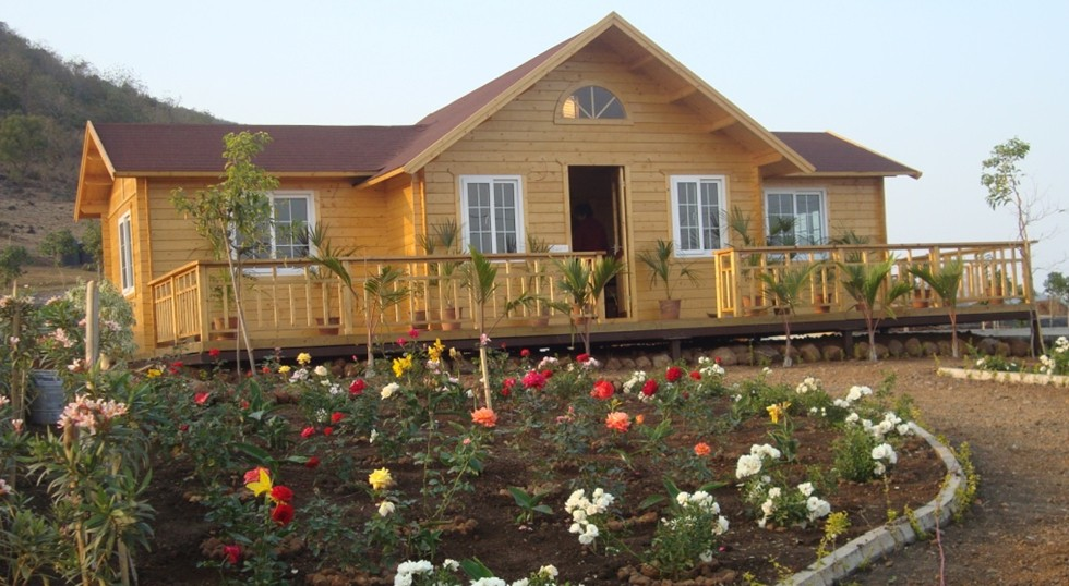 Wholesale price China factory Wood houses log cabins