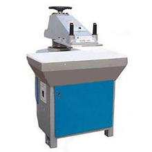 25T hydraulic swing arm shoes cutting Press Clicking machine