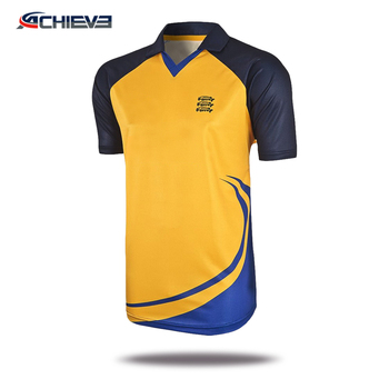 bd098eb94 Sublimated customized team cricket jerseys , sport t shirt design cricket